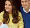 02/05/2015 Londra. St. Mary Hospital, il duca e la duchessa di Cambridge presentano la loro bambina, ancora senza nome. William e Kate