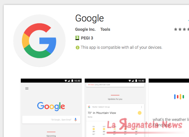 Google App Whatsapp