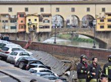 Voragine lungarno: 2 guasti, più grave su 'dorsale' acquedotto