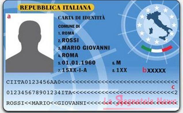 Carta identità elettronica: da oggi al via
