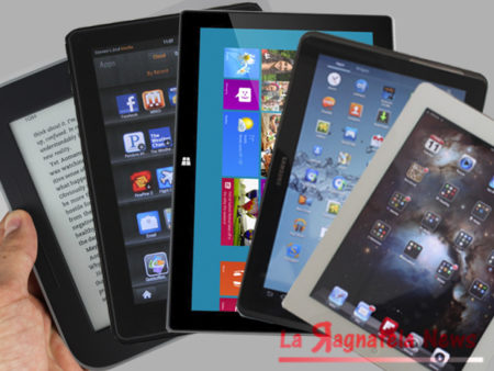 Tablet, mercato ancora in calo (-12%)