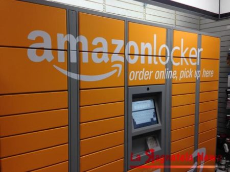 Amazon Locker sbarca in Italia