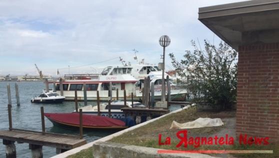 Venezia: cadavere affiora dalle acque della laguna, vicino a Sacca Fisola