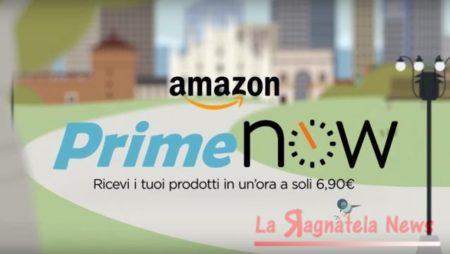 Amazon Prime Now, pesce fresco a casa