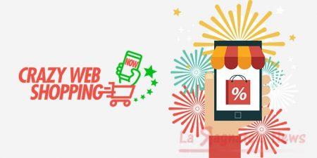 Torna Crazy Web Shopping, 30 ore di shopping online con sconti imperdibili